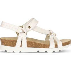 Sandały Panama Jack. Białe rzymianki damskie Panama Jack, z bawełny. Za 219,90 zł.