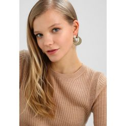 Biżuteria i zegarki damskie: Anton Heunis REMOVABLE DISC HOOPS WITH BUTTON EARRINGS Kolczyki grey/goldcoloured