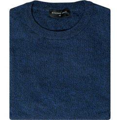 Sweter EDMONDO SWGR000213. Niebieskie swetry klasyczne męskie marki Giacomo Conti, na jesień, m, z bawełny. Za 149,00 zł.