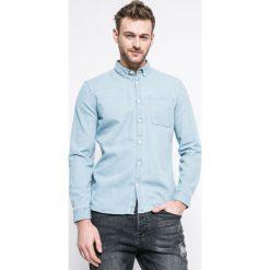 Review - Koszula. Szare koszule męskie jeansowe Review, l, button down, z długim rękawem. W wyprzedaży za 89,90 zł.