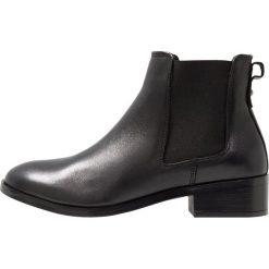 ALDO ERAYLIA Ankle boot black. Czarne botki damskie na zamek ALDO, z materiału. Za 459,00 zł.