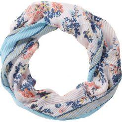 Szaliki damskie: Szal koło w kwiatowy wzór bonprix jasnoniebieski