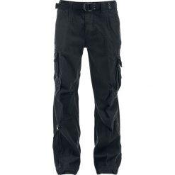 Spodnie męskie: Brandit Royal Vintage Trousers Spodnie czarny