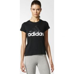 Topy sportowe damskie: Adidas Koszulka damska T-shirt czarna r. XS (B45786)