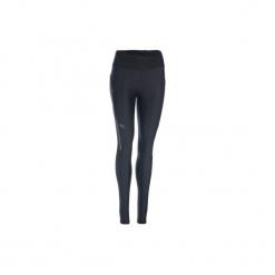 Legginsy do biegania RUN DRY+ damskie. Czarne legginsy KALENJI, l, z elastanu. Za 59,99 zł.