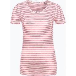 Marc O'Polo - T-shirt damski, różowy. Czerwone t-shirty damskie Marc O'Polo, s, z dżerseju, polo. Za 89,95 zł.