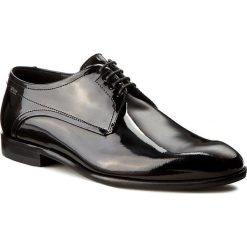 Półbuty BOSS - C-Desspat 50305625 10187503 01 Black 001. Czarne buty wizytowe męskie Boss, z lakierowanej skóry. W wyprzedaży za 649,00 zł.