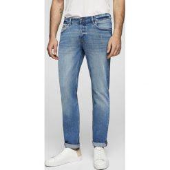 Mango Man - Jeansy Tim2. Niebieskie jeansy męskie Mango Man. Za 199,90 zł.