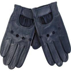 Rękawiczki Męskie WITTCHEN - 46-6L-381-GC  Granatowy. Niebieskie rękawiczki męskie Wittchen, ze skóry. Za 249,00 zł.
