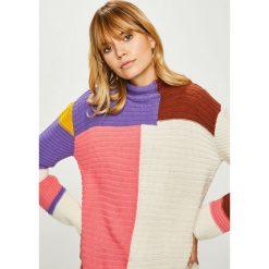 Answear - Sweter. Szare swetry klasyczne damskie ANSWEAR, m, z dzianiny. Za 159,90 zł.