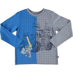 """T-shirty chłopięce z długim rękawem: Koszulka """"Thomas"""" w kolorze szaro-niebieskim"""