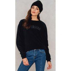 Colourful Rebel Sweter oversize ze sznurowaniem Superstar - Black. Czarne swetry oversize damskie Colourful Rebel. W wyprzedaży za 91,19 zł.