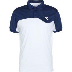 Diadora COURT Koszulka sportowa saltire navy. Niebieskie topy sportowe damskie Diadora, xs, z materiału. Za 129,00 zł.