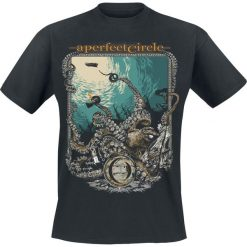 T-shirty męskie z nadrukiem: A Perfect Circle The Depths T-Shirt czarny
