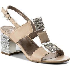 Rzymianki damskie: Sandały ANN MEX – 8616 03S Beż