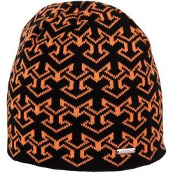 Czapki męskie: Viking Czapka Regular 0055 czarno-pomarańczowa (2100055UNI)