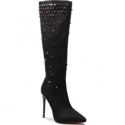 Kozaki KAZAR - Inga 34037-TS-00 Black. Czarne buty zimowe damskie Kazar, z materiału, na wysokim obcasie. Za 749,00 zł.