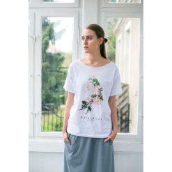 Bluzki, topy, tuniki: DZIKA RÓŻA Oversize t-shirt