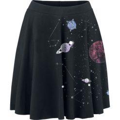 Spódniczki: Outer Vision Planetarium Spódnica czarny