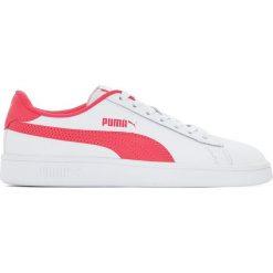 Tenisówki Jr Puma Smash V2 L. Czerwone buty sportowe dziewczęce marki Puma, xl, z materiału. Za 201,56 zł.