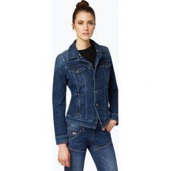 Bomberki damskie: G-Star - Damska kurtka jeansowa, niebieski