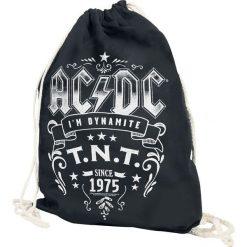 AC/DC T.N.T. Torba treningowa czarny. Czarne torebki klasyczne damskie AC/DC, z nadrukiem, z nadrukiem. Za 54,90 zł.