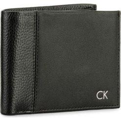 Portfele męskie: Duży Portfel Męski CALVIN KLEIN BLACK LABEL – Nathan 5CC/Coin K50K503144  001