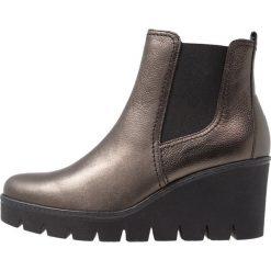 Gabor Ankle boot dark bronze. Brązowe botki damskie skórzane marki Gabor. Za 509,00 zł.