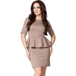 Odzież damska: Sukienka Figl w kolorze jasnobrązowym