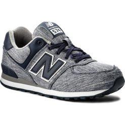 Trampki chłopięce: Sneakersy NEW BALANCE – KL574V7G Granatowy