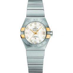 ZEGAREK OMEGA CONSTELLATION 123.20.27.20.55.005. Czarne zegarki damskie marki KALENJI, ze stali. Za 24700,00 zł.