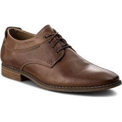 Półbuty KRISBUT - 5049-3-9 Cognac. Brązowe buty wizytowe męskie Krisbut, z materiału. W wyprzedaży za 199,00 zł.