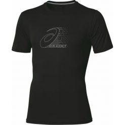 T-shirt Asics Graphic Top Perf 110408-0904. Czarne t-shirty męskie marki Asics, m, z materiału. W wyprzedaży za 89,99 zł.