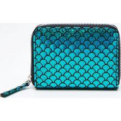 Akcesoria: Błyszczący portfel - Niebieski