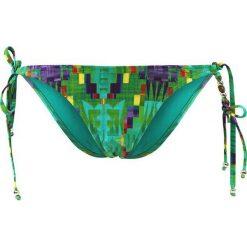 """Stroje kąpielowe damskie: Figi bikini """"Aran"""" w kolorze turkusowo-zielonym"""