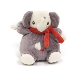 Maskotka z grzechotką – słoń (FP10088). Szare przytulanki i maskotki Fisher Price. Za 34,79 zł.