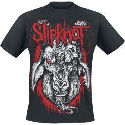 Slipknot Rotting Goat T-Shirt czarny. Czarne t-shirty męskie z nadrukiem Slipknot, l, z dekoltem na plecach. Za 74,90 zł.