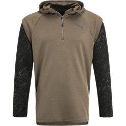Bluzy męskie: Puma ENERGY  Bluza z kapturem olive night