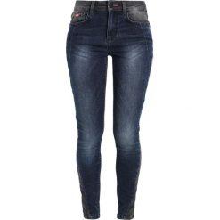 Rurki damskie: H.I.S LORRAINE Jeans Skinny Fit premium dark blue wash