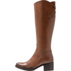 Pinto Di Blu Kozaki cognac. Brązowe buty zimowe damskie Pinto Di Blu, z materiału. Za 749,00 zł.