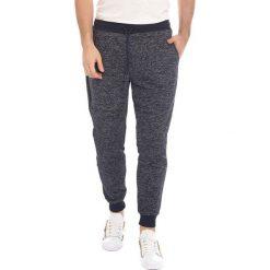 Spodnie męskie: Spodnie dresowe w kolorze granatowym