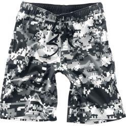 Doomsday Pixel Shorts Kąpielówki szary/biały. Czarne kąpielówki męskie marki Black Premium by EMP. Za 44,90 zł.