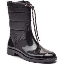 Kalosze GIOSEPPO - 46282 Black. Czarne buty zimowe damskie Gioseppo, z materiału. Za 219,00 zł.
