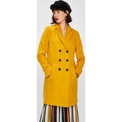 Answear - Płaszcz Falling In Autumn. Szare płaszcze damskie marki Mango, l, z elastanu, klasyczne. W wyprzedaży za 219,90 zł.