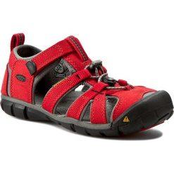 Sandały KEEN - Seacamp II Cnx 1014478  Racing Red/Gargoyle. Czerwone sandały męskie skórzane marki Keen. Za 239,95 zł.