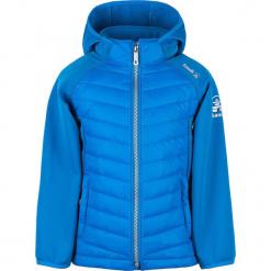 Kurtka funkcyjna w kolorze niebieskim. Niebieskie kurtki chłopięce Kamik, z materiału. W wyprzedaży za 195,95 zł.