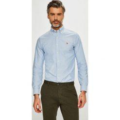 Polo Ralph Lauren - Koszula. Szare koszule męskie slim marki Polo Ralph Lauren, l, z bawełny, button down, z długim rękawem. Za 429,90 zł.