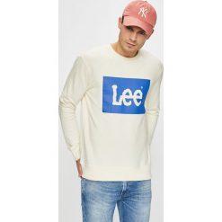 Lee - Bluza. Szare bluzy męskie rozpinane Lee, l, z nadrukiem, z bawełny, bez kaptura. Za 239,90 zł.