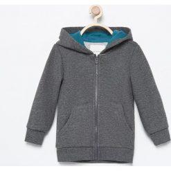 Bluza z kapturem - Szary. Szare bluzy niemowlęce marki Reserved, z kapturem. Za 24,99 zł.