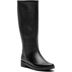 Kalosze STUART WEITZMAN - Griffin ZO12774 Black Ottawa. Czarne buty zimowe damskie Stuart Weitzman, z materiału. Za 1279,00 zł.